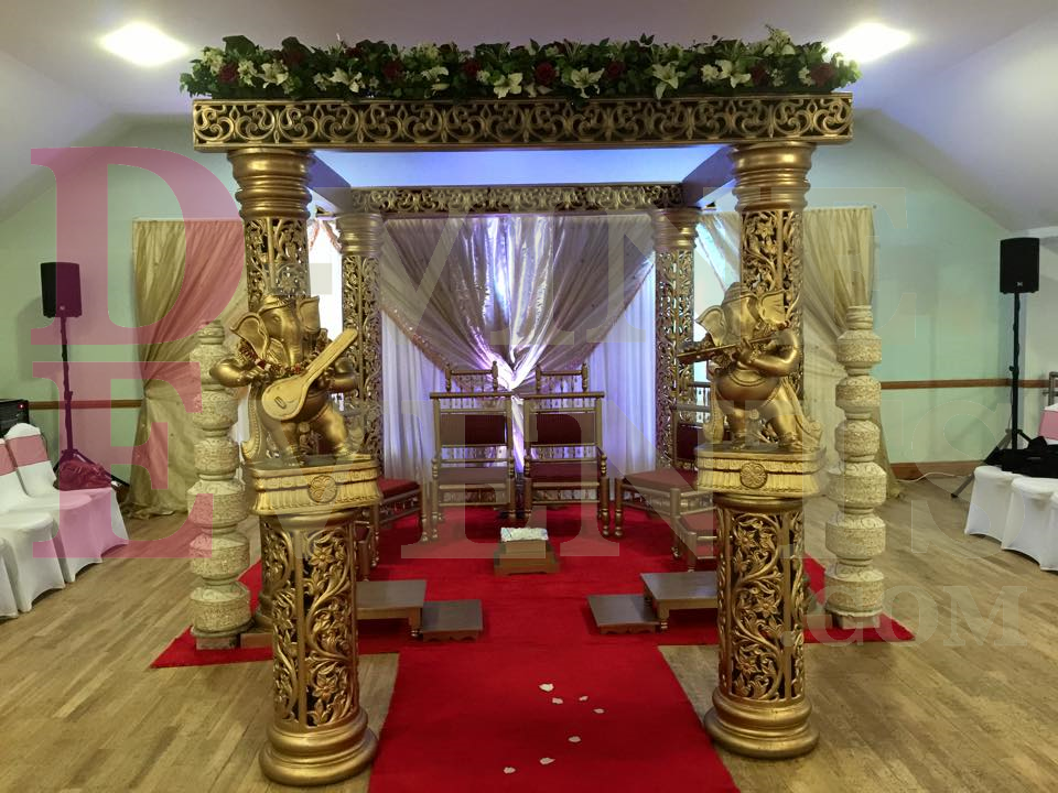 D vine events for event hire in london wedding decorations in london cheap mandaps junglespirit Images