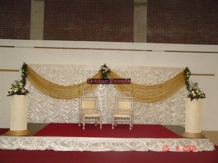 Wedding decorations asian wedding stages junglespirit Images