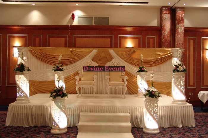 asian wedding stage decoration romantic decoration