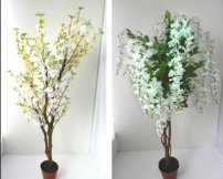 Artificial Wedding Flowers and Trees