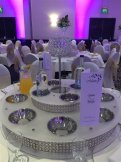 Crystal Globe Table Decoration Centrepiece