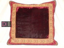 Velvet Maroon Cushion