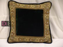 Velvet Green Cushion