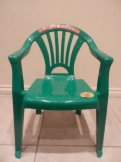 Kid's Green Chair Hire