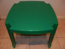 Kid's Green Table Hire