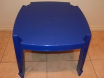 Kid's Blue Table Hire