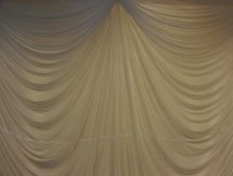 Draped Backdrop
