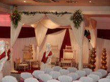 Indian Draped Mandap