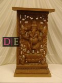 Wood Carved Pedestal