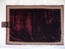 Small Velvet Maroon Mattress