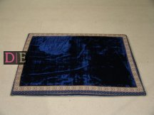 Large Velvet Blue Mattress
