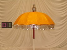 Yellow/Gold Decorative Umbrella