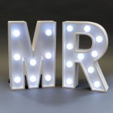 Mr Wedding Light Up Sign